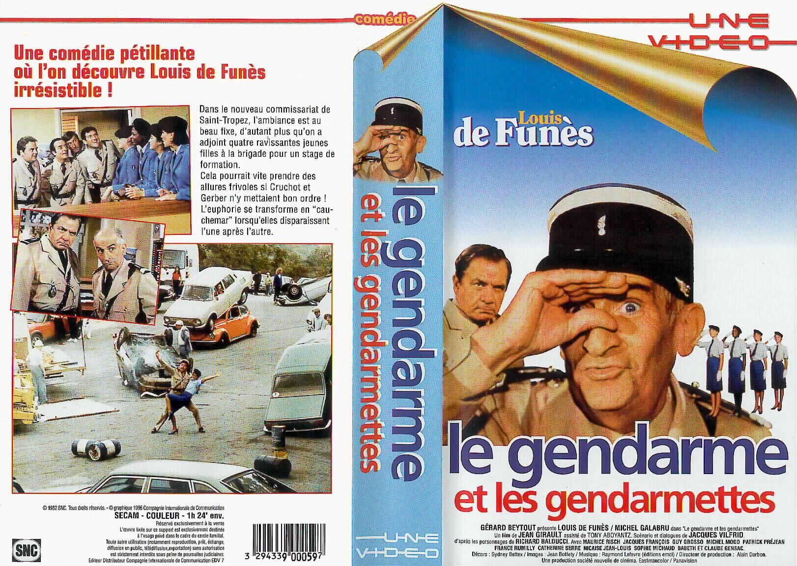 film le gendarme et les gendarmettes